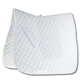 Weatherbeeta Roma Economy Dressage Saddle Pad  - White