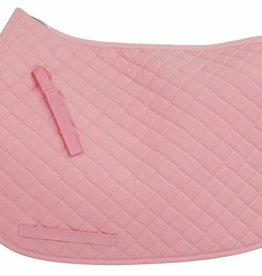 Tuffrider Basic All Purpose Saddle Pad - Pink