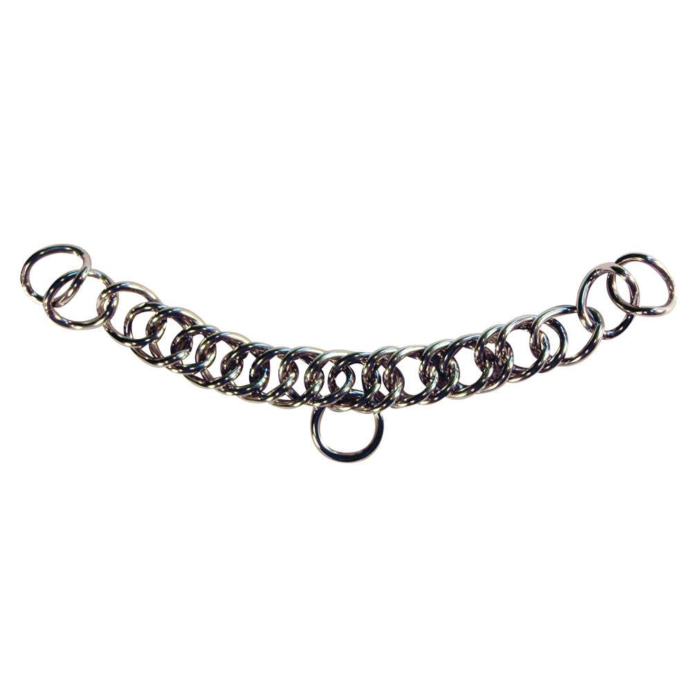 intrepid international english curb chain stainless steel