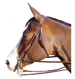 Intrepid Legacy Weymouth Bridle, Havana - Full (Reg $49.95 NOW 40% OFF)