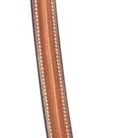 Treadstone Raised Padded Browband, Teak - Cob 14-3/4""