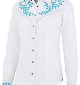 Noble Outfitters Women's Noble Nashville Embroidered Shirt, White - Reg $79.95 now $44.95!!
