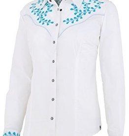 Noble Women's Noble Nashville Embroidered Shirt, White - Reg $79.95 now $44.95!!