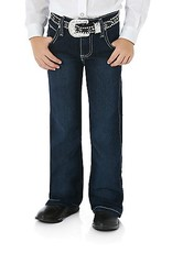 Wrangler Girl's Wrangler Ultimate Riding Jeans, Q-Baby, 10oz Denim