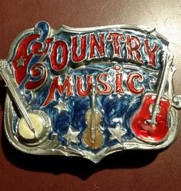 Rockmount Country Music Belt Buckle