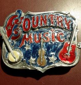 Rockmount Country Music Belt Buckle