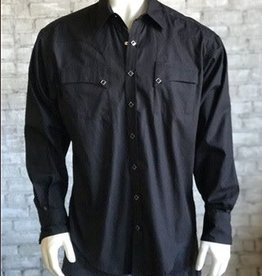 Rockmount Ranch Wear Men's Rockmount Black Quarter Horse Shirt