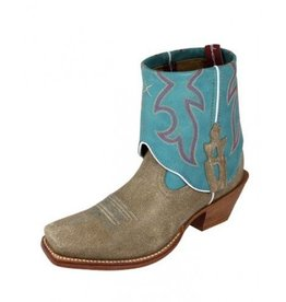 Twisted X, Inc Women's Twisted X Steppin' Out Cuff Boots Dusty & Ocean - 9 B (Reg $189.95 now 25% OFF!)