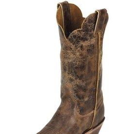 Justin Boots Women's Justin Tan Road Bent Rail Boots 8 B (Reg $204.95 NOW 35% OFF!)