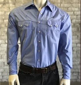 Rockmount Ranch Wear Men's Rockmount Solid Blue Shirt
