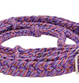Partrade Braided Confetti (Nylon) Glitter Barrel Reins