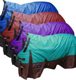 Showman Showman Perfect Fit 1200D Turnout Heavy Blanket