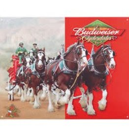 Budweiser Clydesdales - Sign
