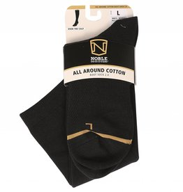 Noble Adult's Noble All Around Crew Sock - Black