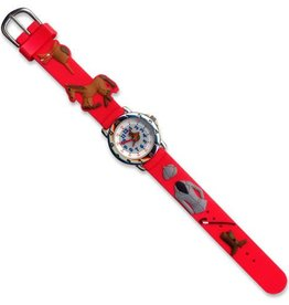 GT Reid Watch - Red English Riding