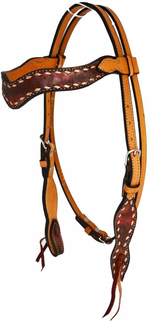 Alamo Saddlery Marble Wave Overlay Tack Set - Reg $249.90, Now On Sale