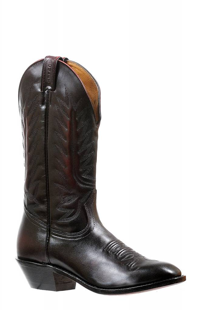 Boulet Western Men's Boulet Black Cherry Western Boot - Proudly Canadian!