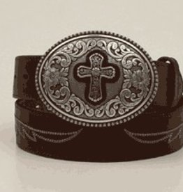 Women's Ariat Belt w/ Cross Buckle