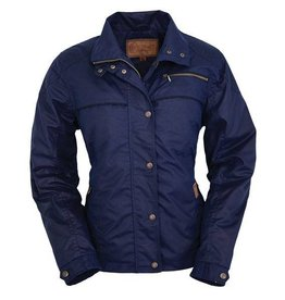 Outback Trading Company LTD Women's Outback Sheila's Delight Oilskin Jacket - $149.95 @ 50% OFF! Navy Large