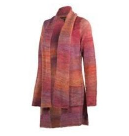Noble Outfitters Ombre Scarf Sweater - Reg $79.95 now $20 OFF!! Violet L