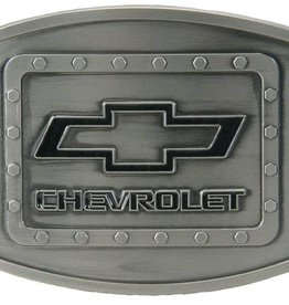WEX Chevy Riveted Belt Buckle