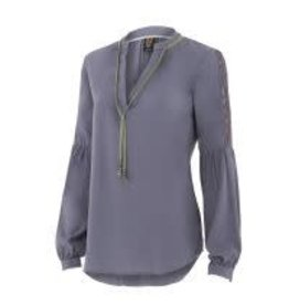 Noble Outfitters Noble Folklore Peasant Shirt Slate Grey X-Large - Reg Price $42.95 now 50% OFF!