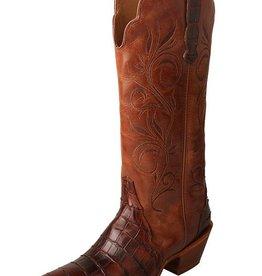 Twisted X, Inc Women's Twisted X Rancher Boot – Croco Cognac/Profirio Cognac