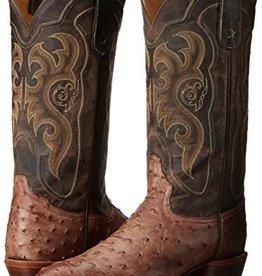 Tony Lama Men's Tony Lama Durmont Full Quill Ostrich Boots