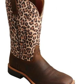 Twisted X, Inc Women's Twisted X Top Hand Leopard Boots 7.5 B (Reg Price $179.95 now 25% OFF!)