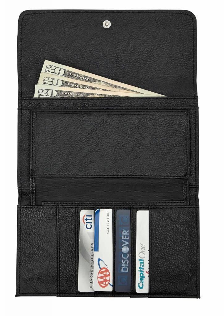 AWST Wallet - Black Snaffle Bit