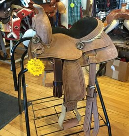 "Tough-1 King Series 12"" Barrel Saddle - FQHB"