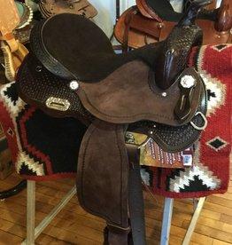"Nash Leather, Inc. Nash Skyler Barrel Saddle, FQHB, 16"""