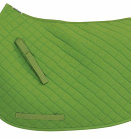 Tuffrider TuffRider Basic All Purpose Saddle Pad  Apple Green