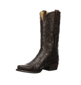 Lucchese Bootmaker Men's Lucchese Kent, Chocolate/Black