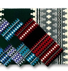 Mayatex Mayatex Catalina Saddle Blanket Black, Cream, Charcoal