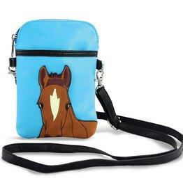 GT Reid Shoulder Bag, Chestnut Horse