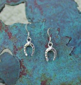 Baron Silver Earrings - Horseshoe