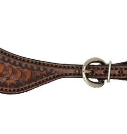 Alamo Spur Straps w/Wave Tooling