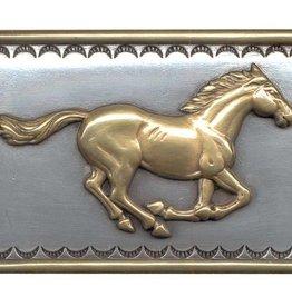 Belt Buckle - Galloping Horse