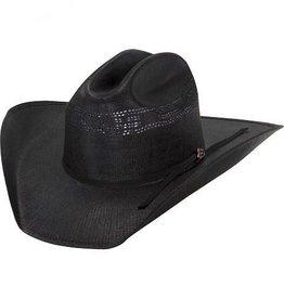 Justin Western Justin 20X Cutter Black Straw Hat