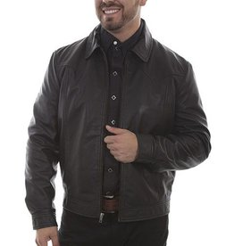 Scully Men's Scully Black Lamb Leather Jacket