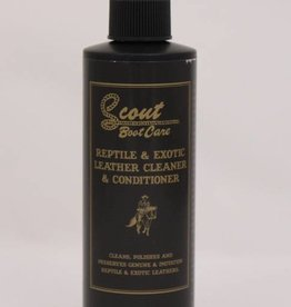 Scout Scout Reptile and Exotic Skin Cleaner & Condition - 8 oz