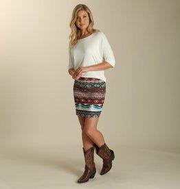 Wrangler Women's Wrangler Aztec Mini Skirt