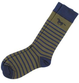 GT Reid Adult's Sock - Thin Stripe Navy