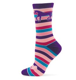 GT Reid Adult's Socks - Bright Strips