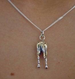Baron Silver Necklace - Horse Hip Pendant