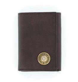 Nocona Nocona Brown Bullet Tri-Fold Wallet