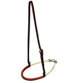 Circle L Leather Wrapped Rawhide Noseband