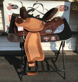 "Wild Star Wild Star Roughout Barrel Saddle - 15""  FQHB/Wide"