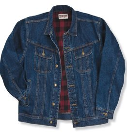 Wrangler Men's Wrangler Flannel Lined Denim Jacket